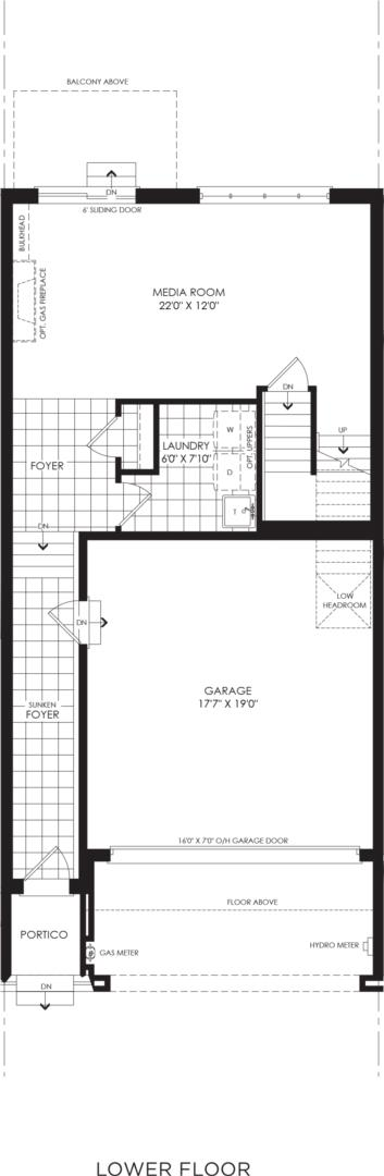 BLOCK 12, ELEV. A1 REV, UNIT 4 Floorplan 1