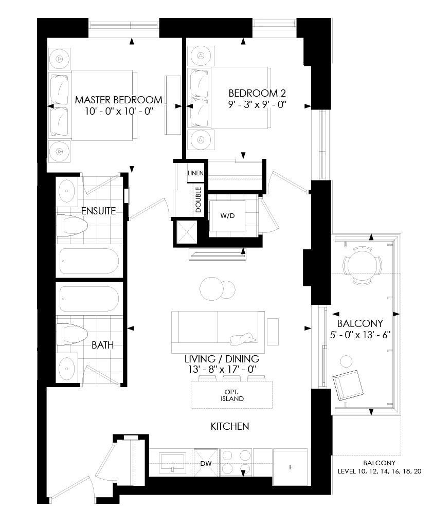 2B-B Floorplan 1