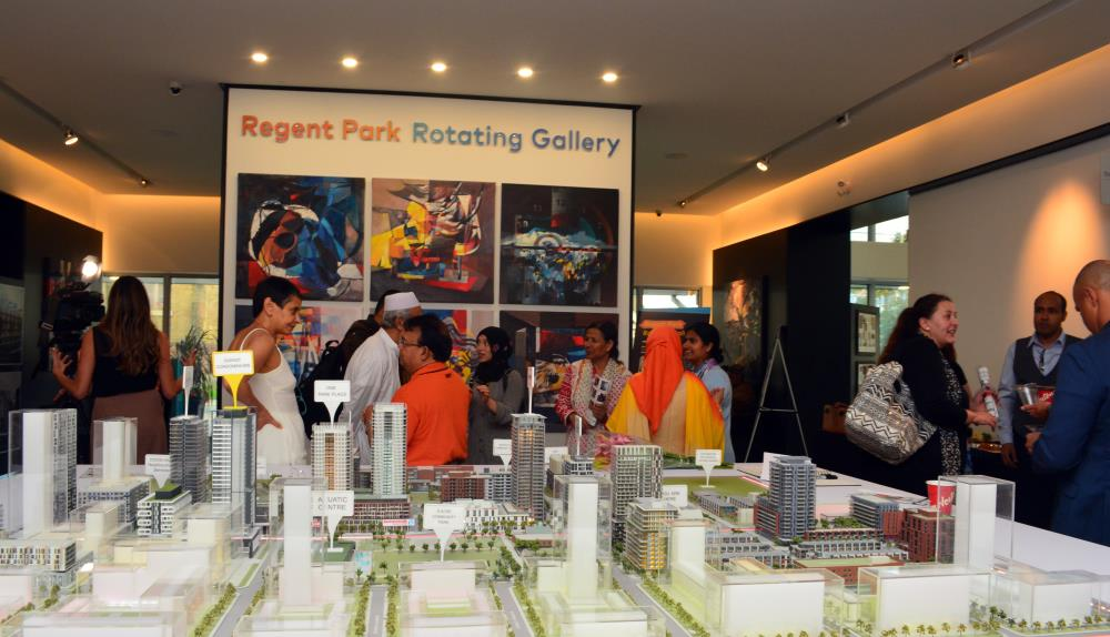 Daniels celebrates the grand opening of the Regent Park Rotating Gallery! Image