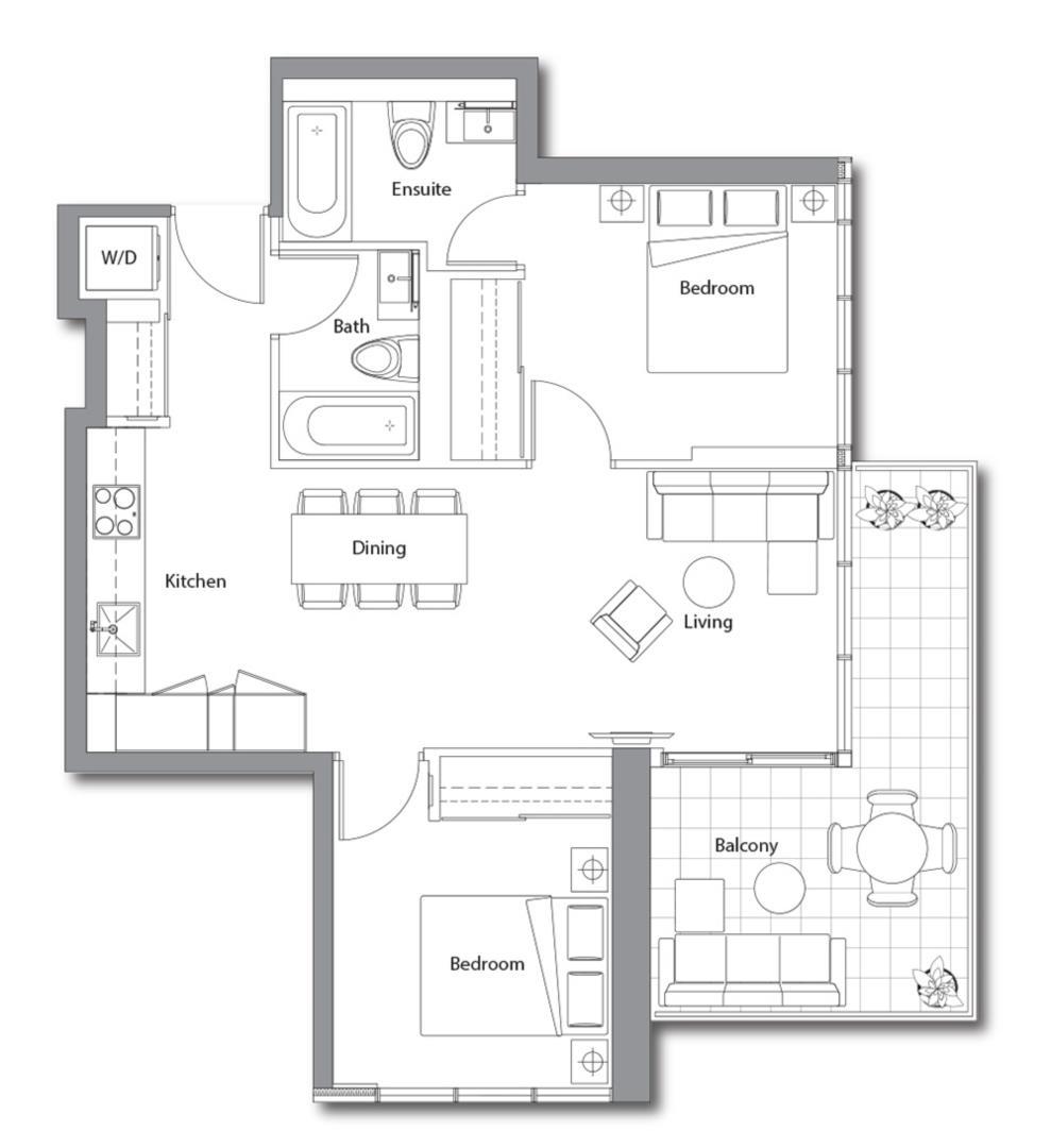 East Tower 02 Floorplan 1