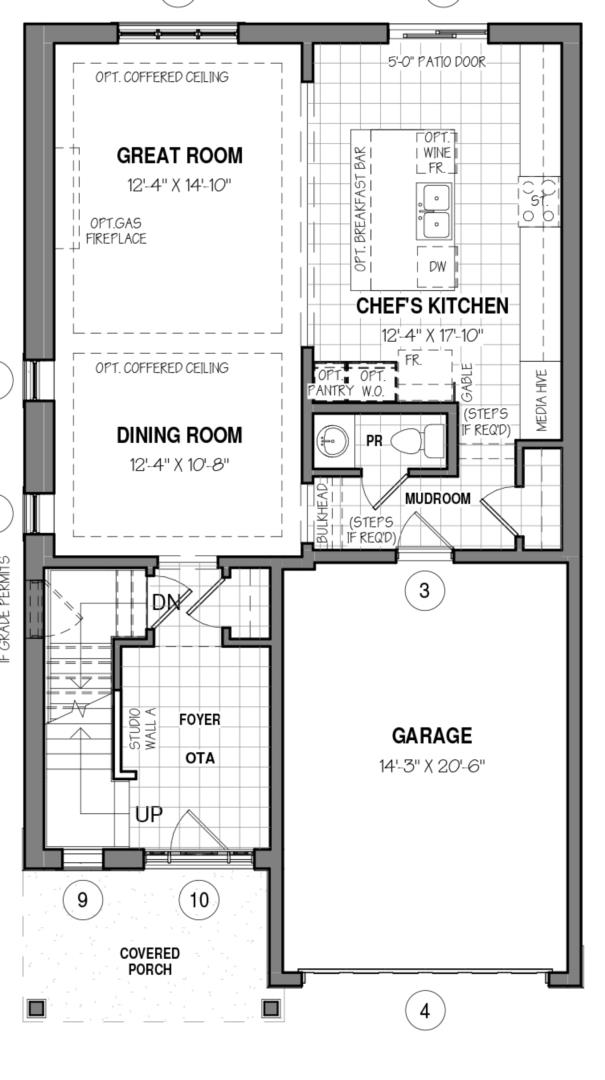 The Oxford 34 IV B Floorplan 1