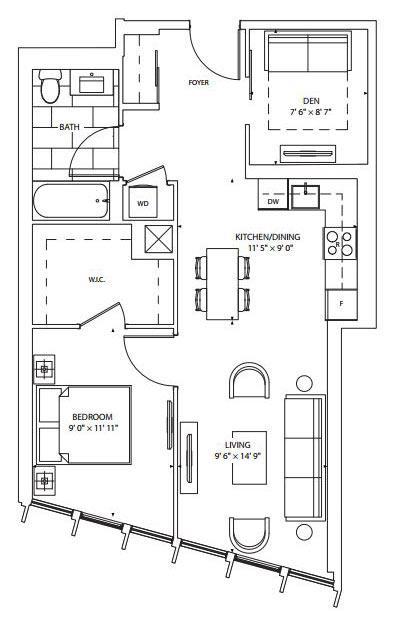 Cranberry Floorplan 1