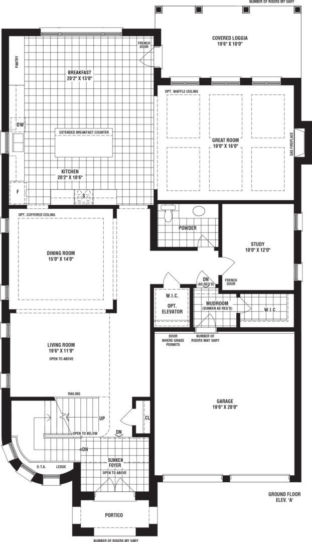 Foster Creek Floorplan 1