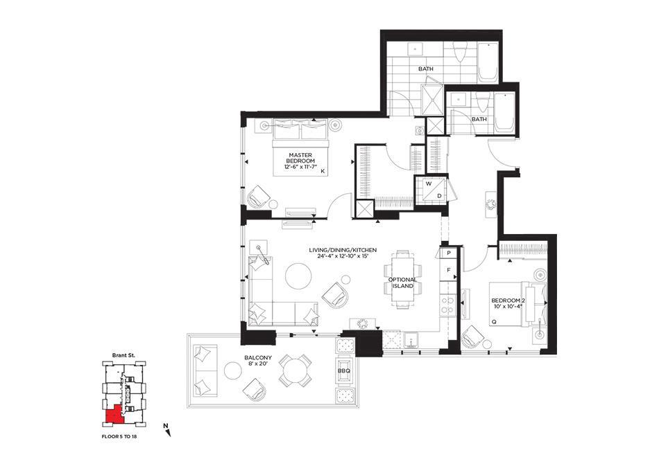 The Met Floorplan 1