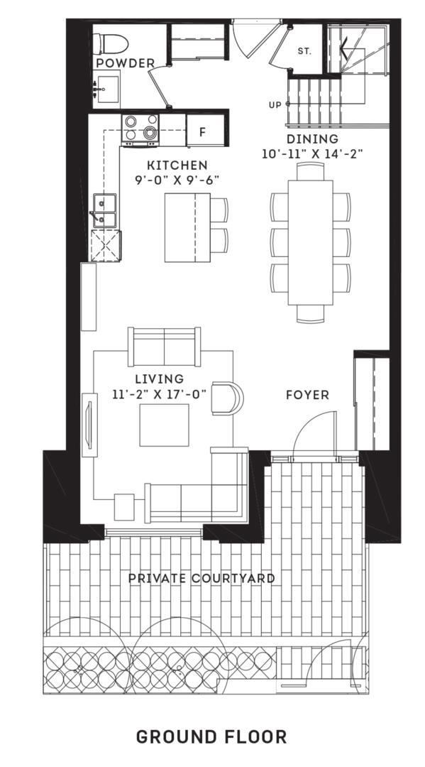 The Eglinton Floorplan 1