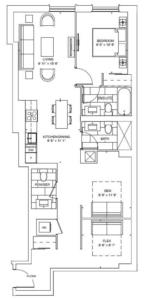Carnation Floorplan 1