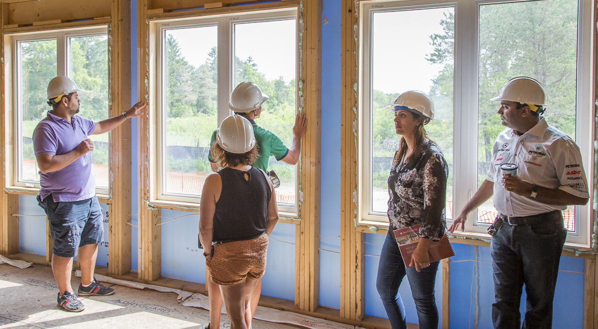 Behind the Scenes at the Geranium Homes Hard Hat Tour Image