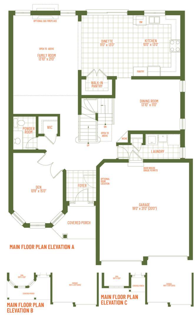 The Mount Juliet Floorplan 1