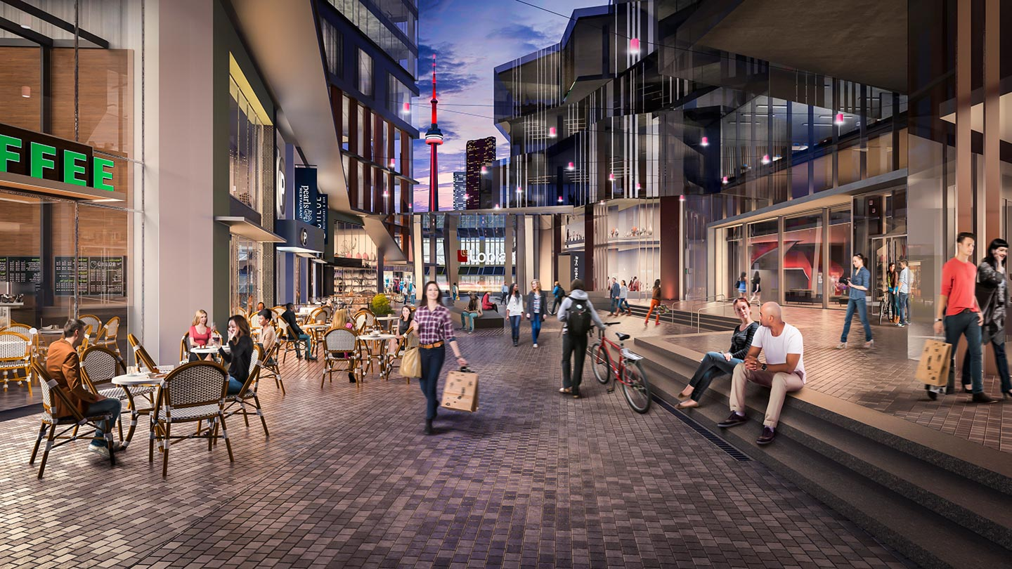 Daniels Waterfront wows crowd with amazing amenities and vision Image