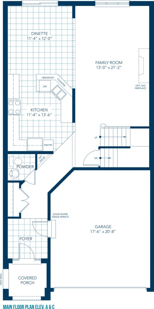 Chestnut Floorplan 1