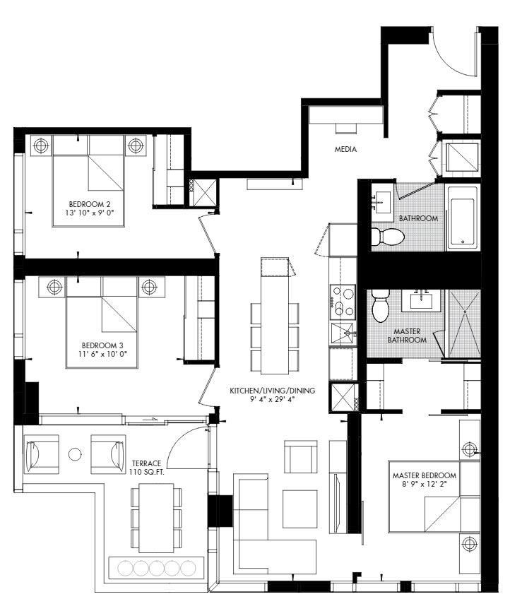 Yorkville 66 Floorplan 1