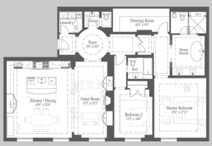 Campbell - 303 Floorplan 1