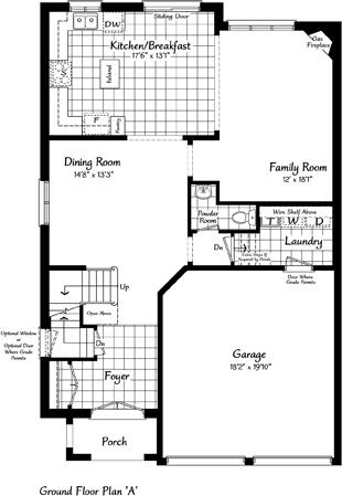 The Windermere 24 Floorplan 1