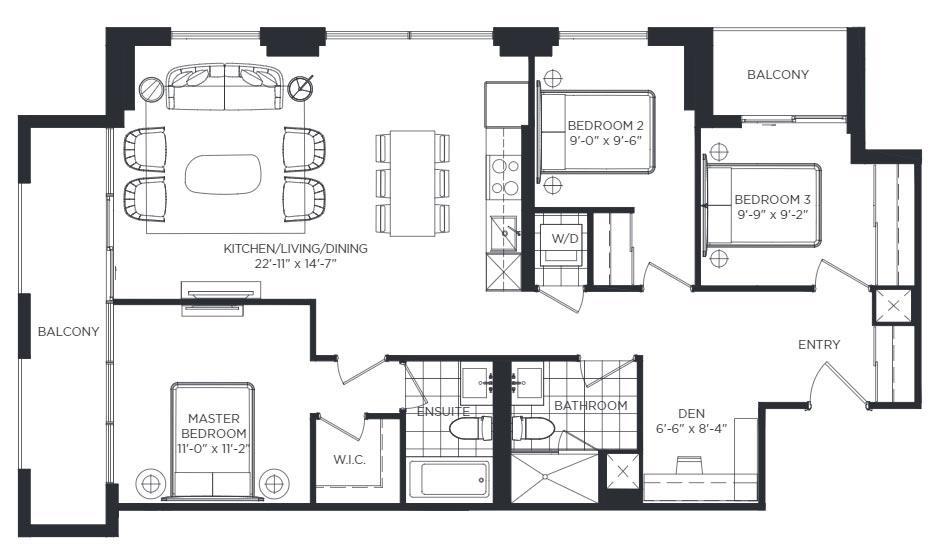 Stanley Gardens Floorplan 1
