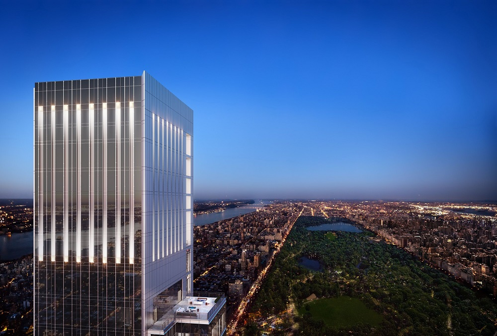 Central Park Tower by Extell in New York City