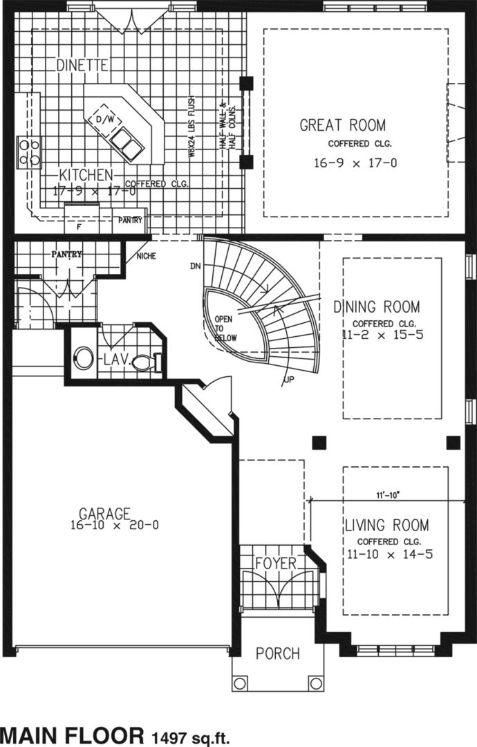 The Skyview Floorplan 1
