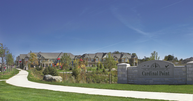 VISTA Flats & Towns is the final release at Cardinal Point in Stouffville! Image