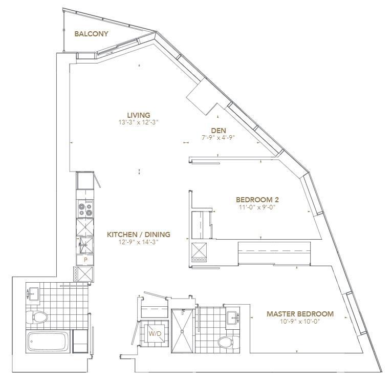 Residence 10 Floorplan 1