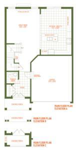 The Westport Floorplan 1