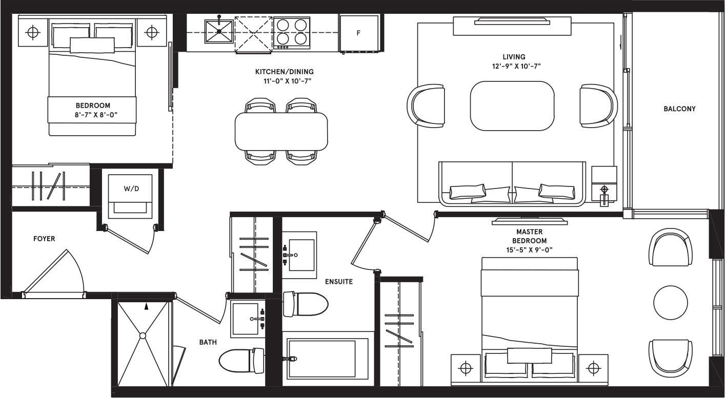 Melbourne Podium Floorplan 1