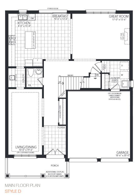The Montgomery Floorplan 1