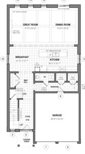 The Dawn B Floorplan 1