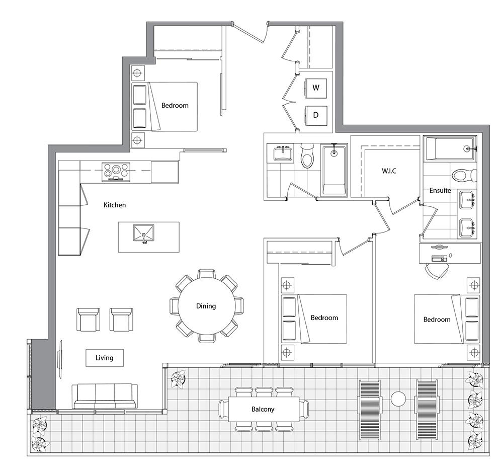 Upper (East Tower) 05 Floorplan 1