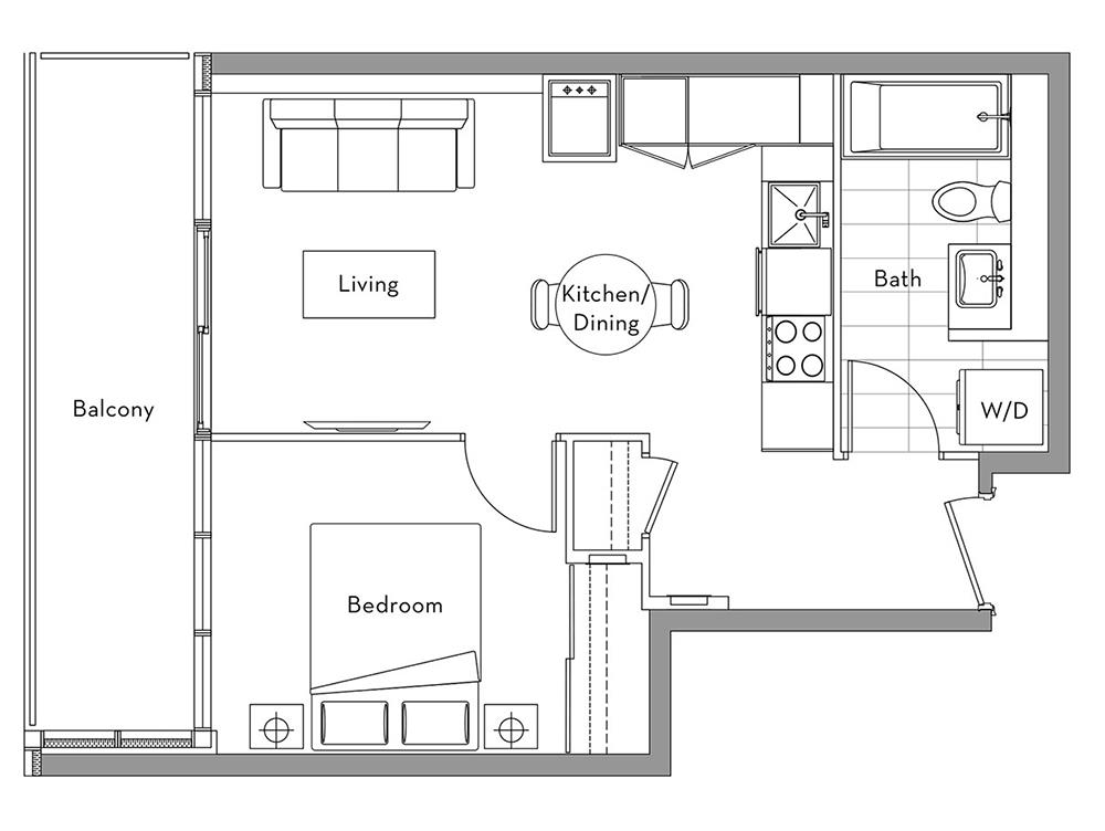 The 360 Collection - 003	 Floorplan 1