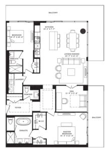 The Vanderbilt Floorplan 1