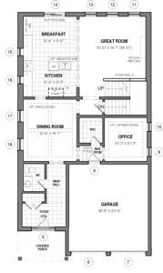 The Hail B Floorplan 1