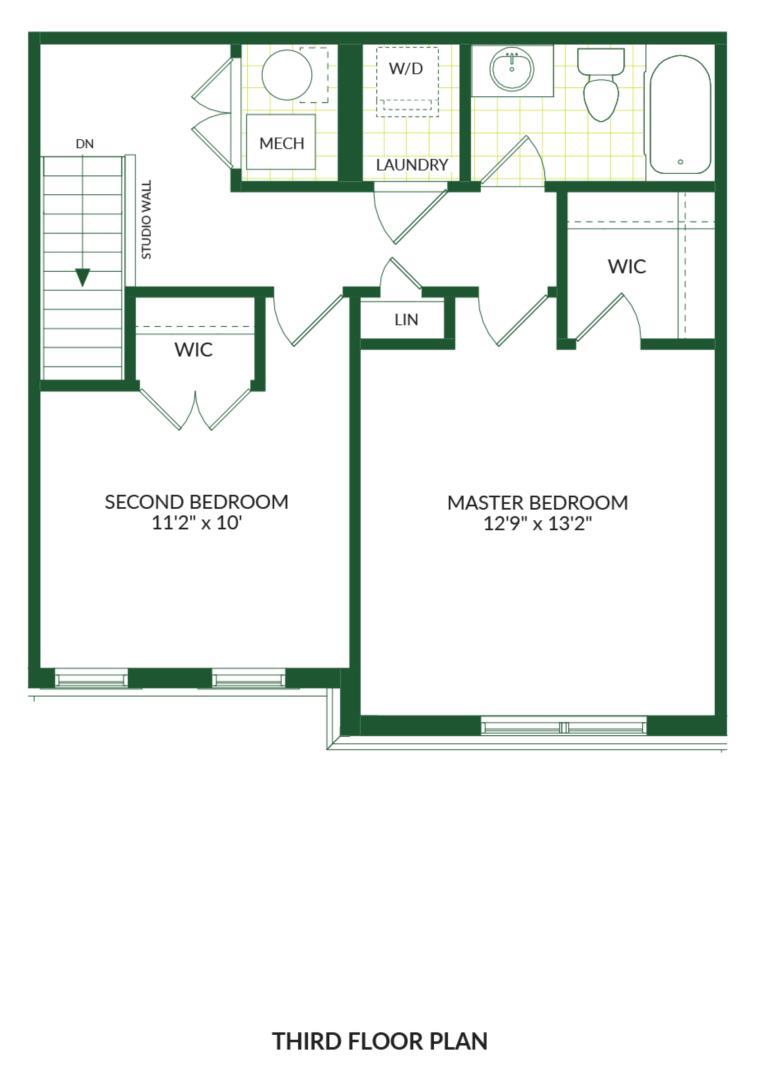 The Palmer B, Building G Floorplan 3