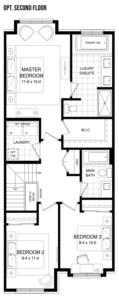 The Escape Floorplan 4
