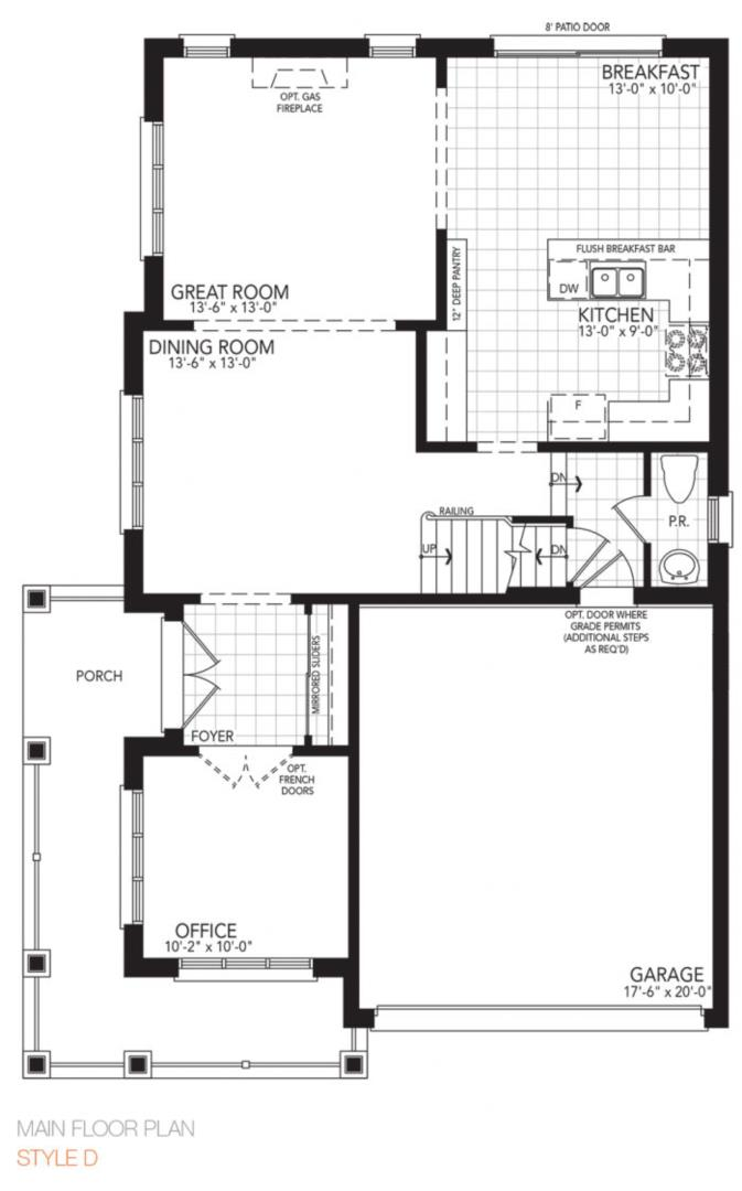 The Vibrant Corner Floorplan 1