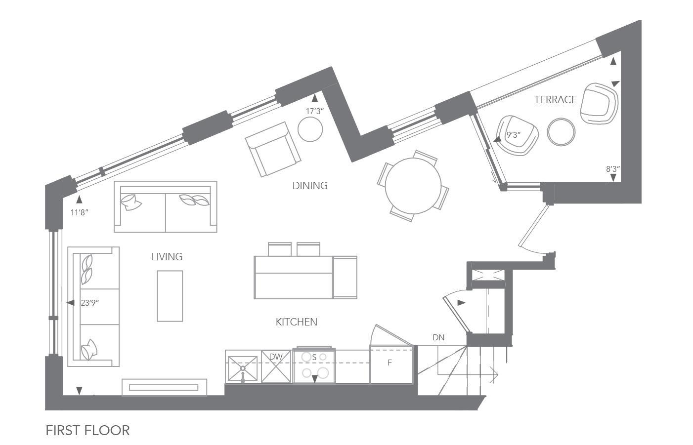No. 8 Floorplan 1