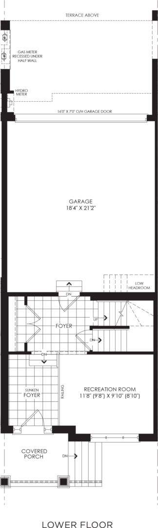 BLOCK 18, ELEV. B1 REV, UNIT 3 Floorplan 1