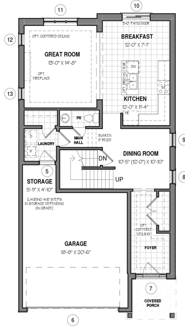 The Elmsgate IV A Floorplan 1