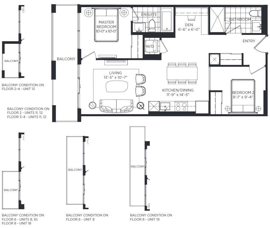 Lancaster Floorplan 1