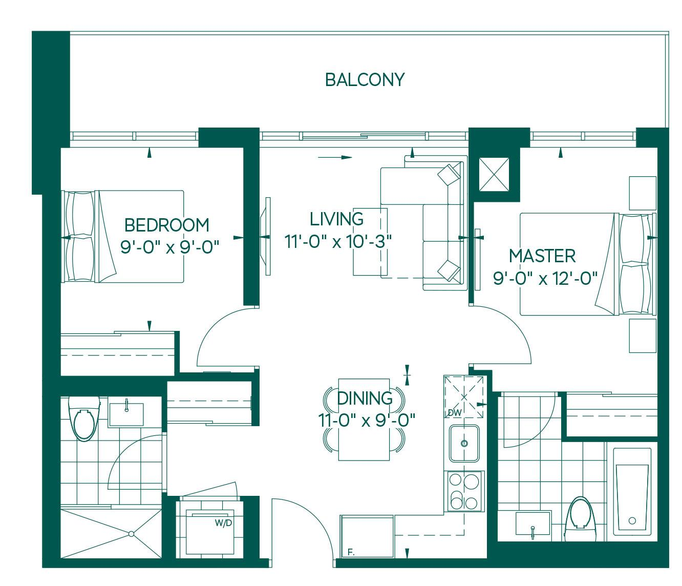 Park Collection - Elbrus Floorplan 1