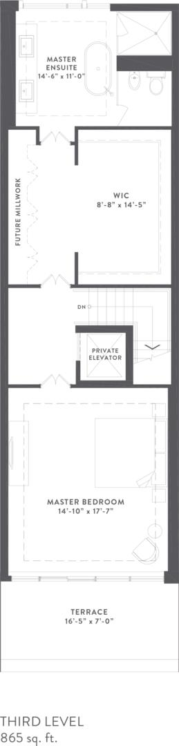 Townhome Collection B Floorplan 4