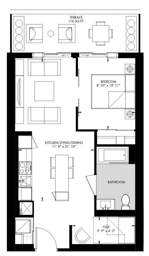 Yorkville 54 Floorplan 1