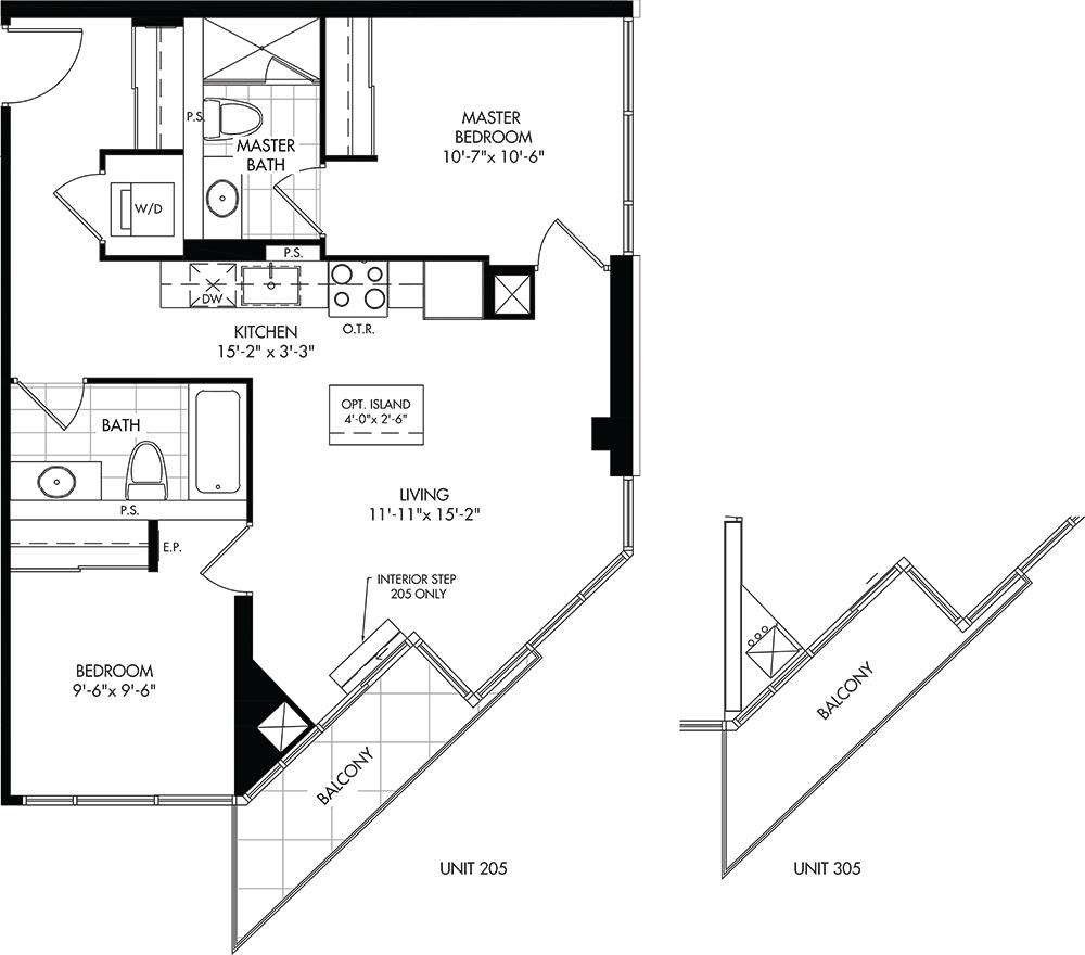 B Floorplan 1