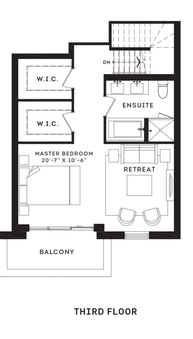 The Brentcliff Floorplan 3