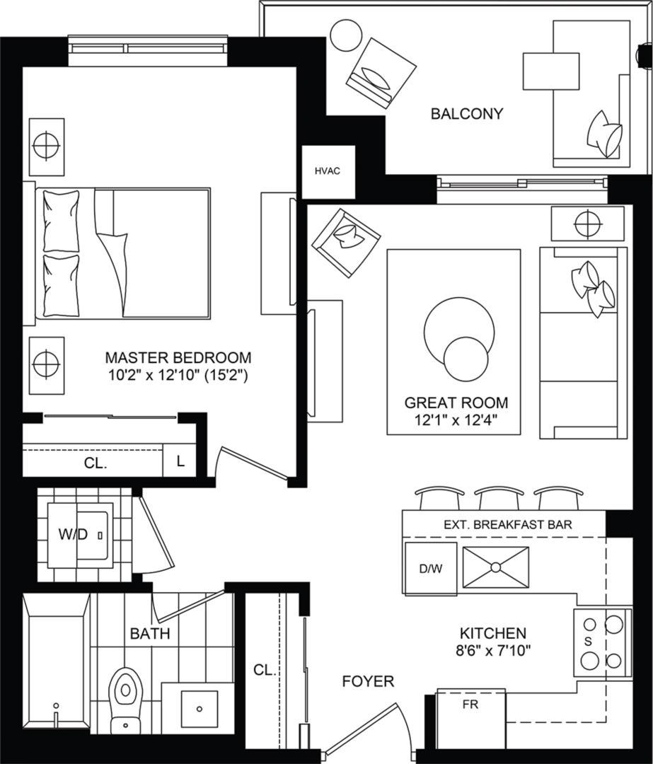 Ascent Floorplan 1