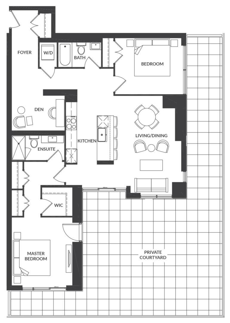 Suite 202 Floorplan 1