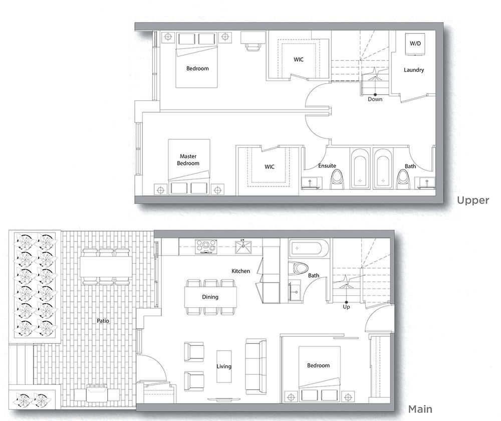 Villa 207 Floorplan 1
