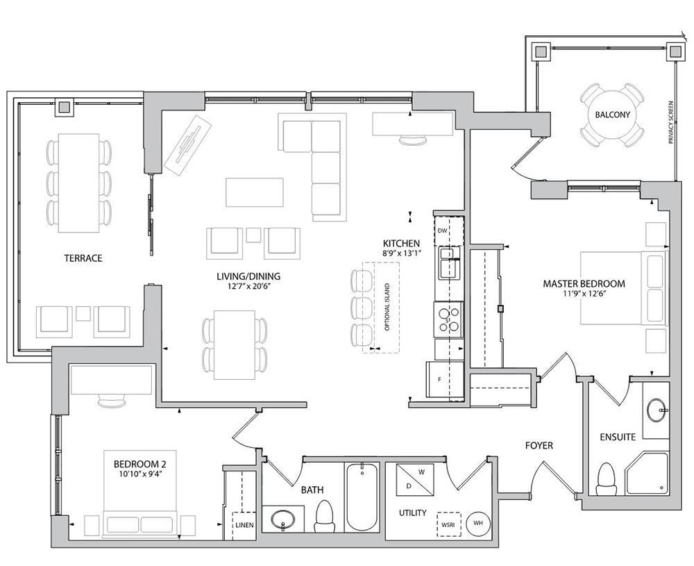 The Bredon Floorplan 1