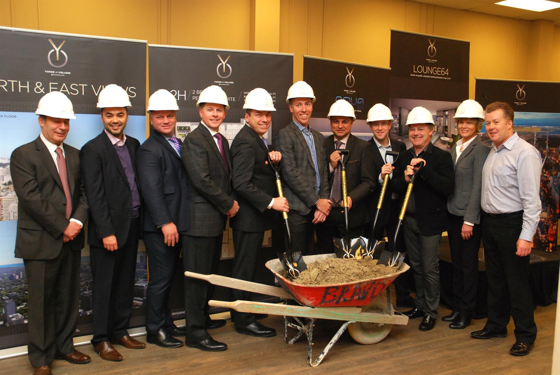Canderel Breaks Ground at YC Condos in Toronto! Image