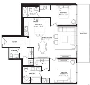 The Murray Floorplan 1