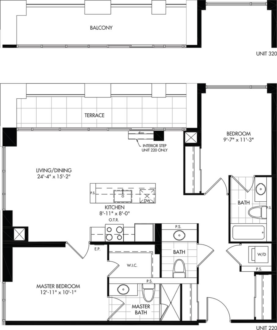 2D-C1 Floorplan 1