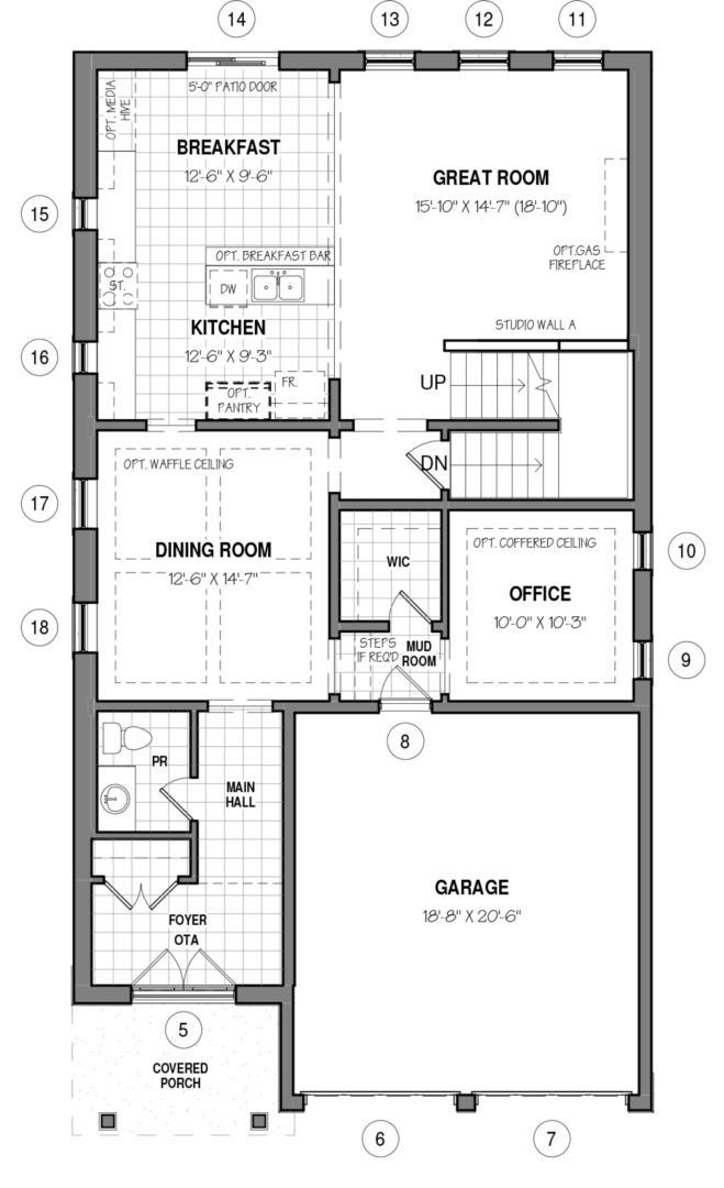 The Hail D Floorplan 1